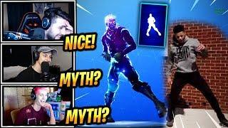 STREAMERS REACT *NEW* FANCY FEET EMOTE/DANCE! - Fortnite Epic & Funny Moments (Fortnite BR)