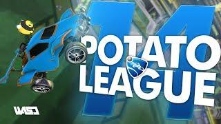POTATO LEAGUE #14 | Rocket League Funny Moments & Fails