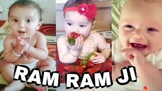 ????Ram Ram Ji | musically | vigovideo | tiktok,Cute Babies,Funny Video,Cute Baby Dute,Whatsapp Stat