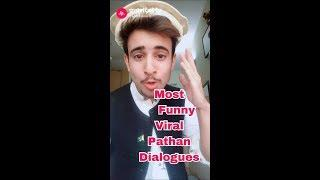 Funny Pathan Dialogue 2018 Best Comedy Jokes Videos | Pakistani Boy Musically