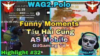 Funny Moments Free Fire | Tấu Hài Cùng AS Mobile - GilGaming TV Cực Bựa ???? | Highlight MP40 #32