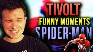 TIVOLT FUNNY MOMENTS | SPIDER-MAN!