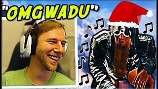ChocoTaco REACTS To Wadu Hek Singing his Christmas ALBUM! PUBG Funny Moments/Fails/WTF Plays