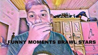 FUNNY MOMENTS BRAWL STARS! ( reaccionando)