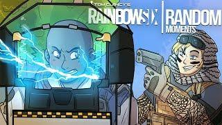 Rainbow Six Siege - Random Moments: #32 (Sneaky Maverick,Basic Clash)