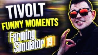 TIVOLT VS FARMING SIMULATOR | FUNNY MOMENTS!