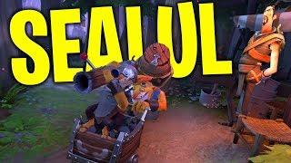 Techies Conquers SEA in Style - DotA 2 Funny Moments