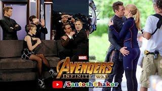 Avengers Infinity War Stars Funny Behind the Scenes | Tony Stark | Scarlett Johansson | Hemsworth