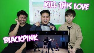 BLACKPINK - KILL THIS LOVE DANCE PRACTICE REACTION (FUNNY FANBOYS)