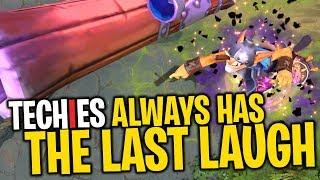 Techies Always Has the Last Laugh - DotA 2 Funny Moments