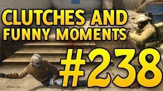 I SHOT A NADE?! CSGO Funny Moments and Clutches #238 - CAFM CS GO