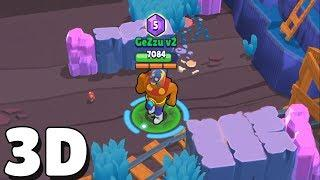 NEW 3D VERSION IS AMAZING! Funny Moments & Glitches & Fails | Brawl Stars Montage #26