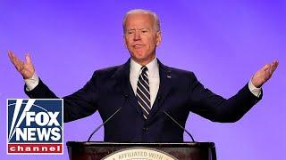 Biden jokes about unwanted touching in first speech since accusations