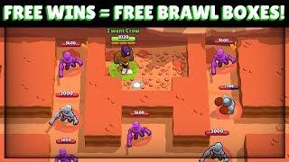 FREE BRAWL BOXES! NEW Robo Rumble EXPLOIT/GLITCH For MAX Time Everytime! :: Brawl Stars Gameplay