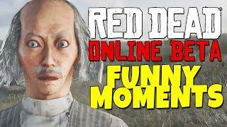 Red Dead Redemption 2 Online - Funny Moments - Akward West