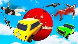 STAY ON THE BALL OR LOSE! (GTA 5 Funny Moments)
