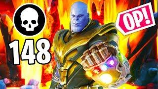 WHY THANOS IS BROKEN AF!! - Fortnite Funny WTF Fails and Daily Best Moments Ep. 1077