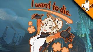 When Mercy WANTS to Die - Overwatch Funny & Epic Moments 632