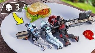 The TRIPLE Legend BROCHETTE!! | Best Apex Legends Funny Moments and Gameplay - Ep.89