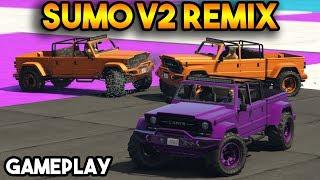 GTA 5 ONLINE : SUMO V2 REMIX (GAMEPLAY AND FUNNY MOMENTS)