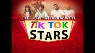 Funny Tik Tok Stars Interview Gopi Longia, Preet Syaan, Soni Crew Singh Fateh
