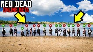 SIMON SAYS MINIGAME in Red Dead Online! RDR2 Online Funny Moments!