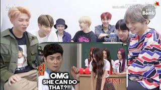 BTS REACTION TO BLACKPINK FUNNY MOMENTS -8 Blackpink's Hidden Talents, Are You AMAZED? |
