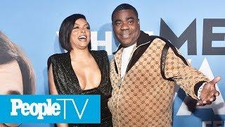 Tracy Morgan Says There's More To Come From 'Funny Lady' Taraji P. Henson | PeopleTV