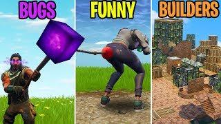 BUGS vs FUNNY vs BUILDERS - Fortnite Funny Moments 277 (Battle Royale)