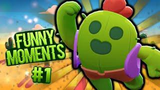Brawl Stars Funny Moments, Trolls & Fail Montage - BEST OF 2019