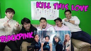 BLACKPINK - KILL THIS LOVE MV REACTION (FUNNY FANBOYS)
