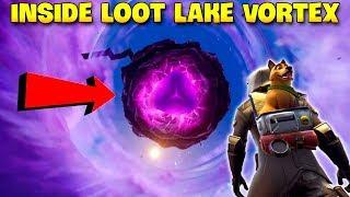 How To Get Inside Loot Lake Vortex..? | Fortnite Twitch Funny Moments #195