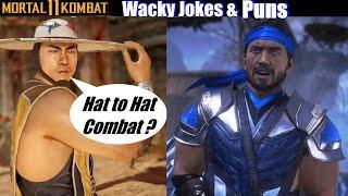 MK11 Wacky Sub Zero & Kung Lao Jokes  - Mortal Kombat 11