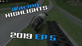 iRacing Twitch Highlights, 2019 Ep. 5 (Fails, Wins and Funny Moments)