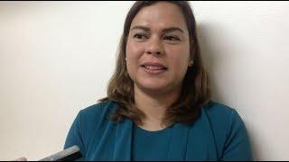 Sara Duterte jokes about running for VP