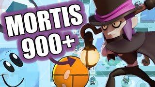Playing Mortis over 900 trophies / Yde / Brawl Stars