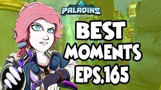 Paladins BEST & FUNNY MOMENTS EPS.165