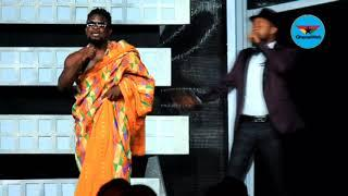 Ghana Movies Awards 2018: Bismark the Joke and Kalybos entertain fans