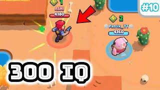 10 IQ or 300 IQ in Brawl Stars Part 10 | Pro Gameplay 2019 | Funny Moments, Fails , Glitches Montage