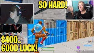 Tfue Attempts Mongraal $400 Edit Course Map! - Fortnite Best & Funny Moments
