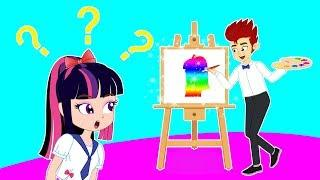 HomieKidz | How to draw a love character | Funny Cartoon | Kids Cartoons | Videos for Kids