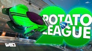 POTATO LEAGUE #28 | Rocket League Funny Moments & Fails