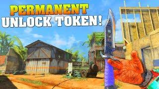 I USED MY PERMANENT UNLOCK TOKEN… (BO4 Gameplay & Funny Moments) First Knife Gameplay #MatMicMar
