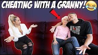 CHEATING WITH GRANDMA PRANK ON GIRLFRIEND! ????????