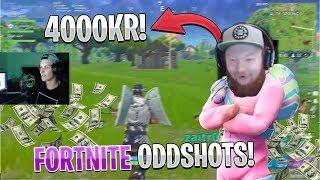 Svenska Fortnite Oddshots #32 - ZAITR0S DONERAR 4000KR! (HIGHLIGHTS/FUNNY MOMENTS)