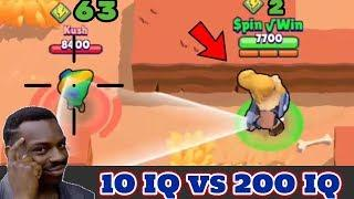 10 IQ or 200 IQ in Brawl Stars Part 4 Gameplay 2019 |Funny Moments ,Fails ,Glitches Montage | 300 IQ