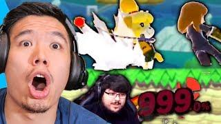 Reacting to INSANE Smash Ultimate Fails & Funny Moments!