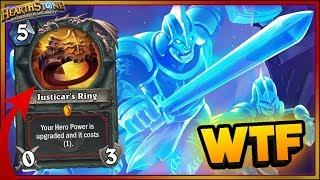 WITCHWOOD WTF Moments, TOAST RANK 1 LEGEND - Hearthstone Daily Funny Rng Moments