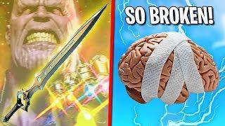 this is what the Fortnite sword does to your brain - Funny Moments