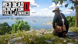 RDR2 ONLINE FAILS & FUNNIES #3 // (Red Dead Redemption 2 Funny Moments)